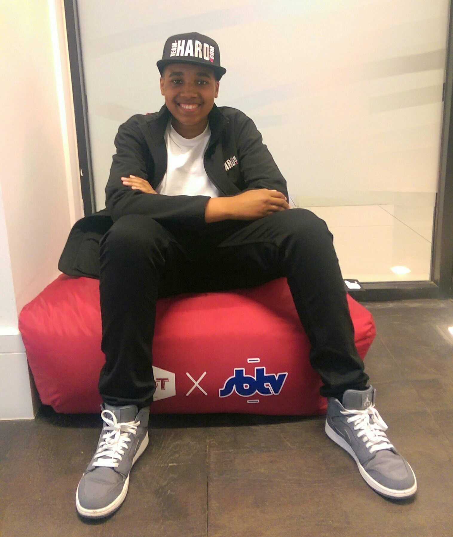 Damani-Marcano-at-SBTV-HQ
