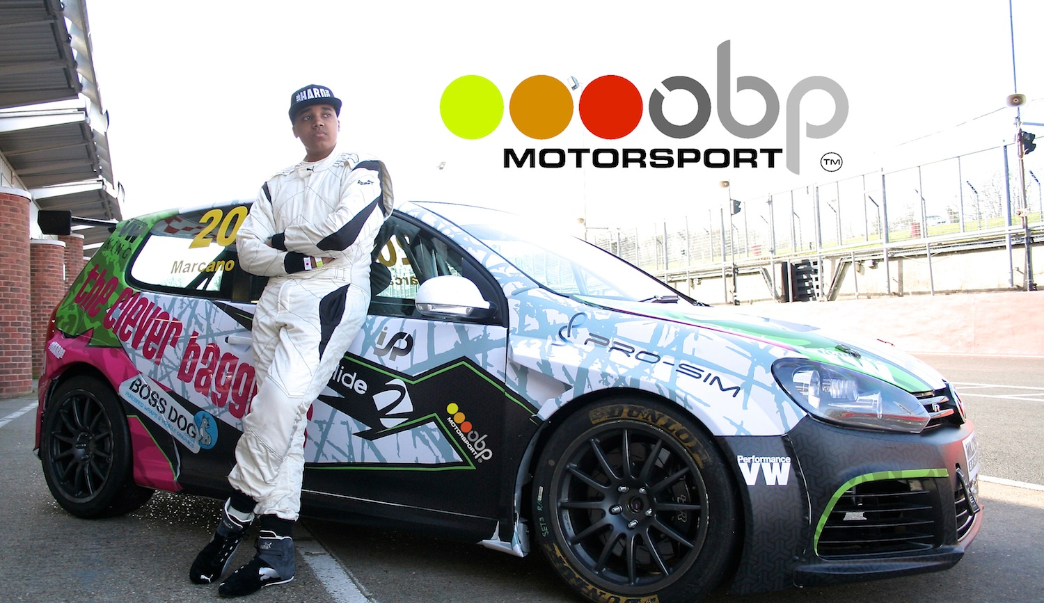 Damani Marcano - obp Motorsport featured